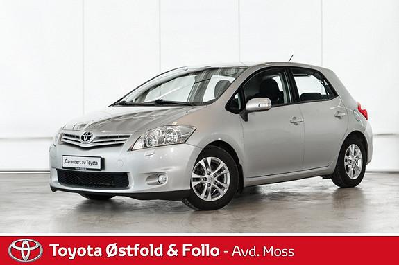 Toyota Auris 1,4 D-4D (DPF) Advance / SERVICER FULGT / HENGERFESTE  2012, 71700 km, kr 138000,-