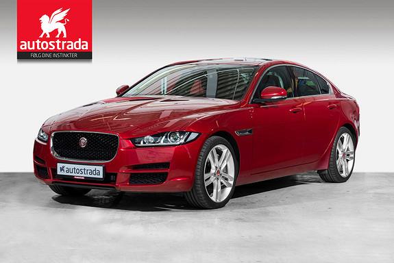Jaguar XE 20d 180hk AWD Portfolio /Pano/Webasto/10,2HDD Navi++  2017, 20000 km, kr 499000,-