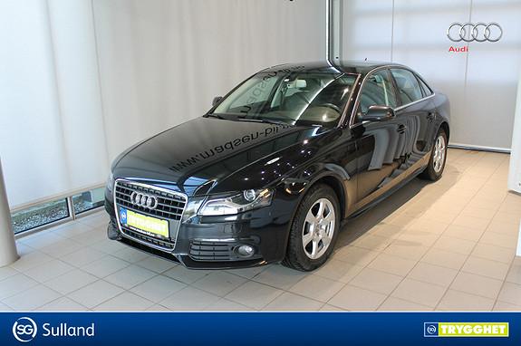 Audi A4 2,0 TDI 120 hk Audi A4 2,0 TDI med Navi/DAB+