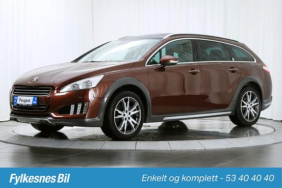 Peugeot 508 RXH Diesel Hybrid 4X4  2014, 39800 km, kr 319900,-