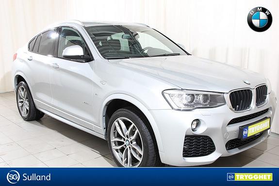 BMW X4 xDrive20d aut Navi, Kamera, DAB, Minne på sete.