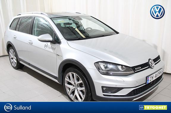 Volkswagen Golf 2,0 184hk Alltrack 4 motion Panorama/Hengerfeste/Skinn