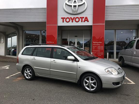 Toyota Corolla 1,4 D-4D Sol m/ hengerfeste  2007, 127642 km, kr 79000,-
