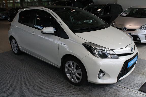 Toyota Yaris VVT-i Hybrid Style  2013, 30800 km, kr 169000,-