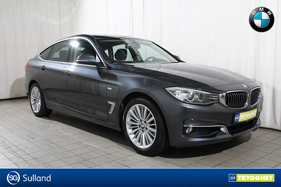 BMW 3-serie 320i xDrive GT aut LuxuryLine-Delskinn-PDC-Krok-Dab+