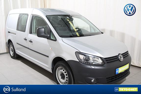 Volkswagen Caddy Maxi 1,6 102HK TDI Park.varmer m.fjernk./Hengerfeste+++
