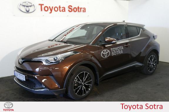 Toyota C-HR 1,2T Supreme Tech 4WD aut  2016, 4200 km, kr 389000,-