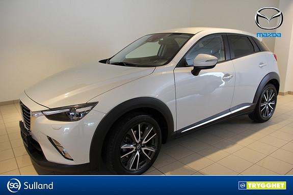 Mazda CX-3 2,0 150hk Optimum AWD aut Navi, ryggekamera.