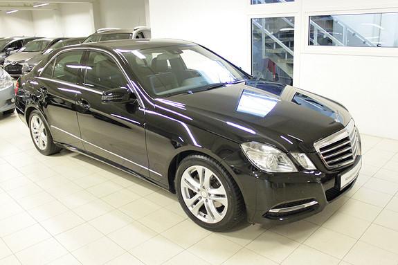 Mercedes-Benz E-Klasse E220 CDI Avantgarde aut  2013, 58265 km, kr 329000,-