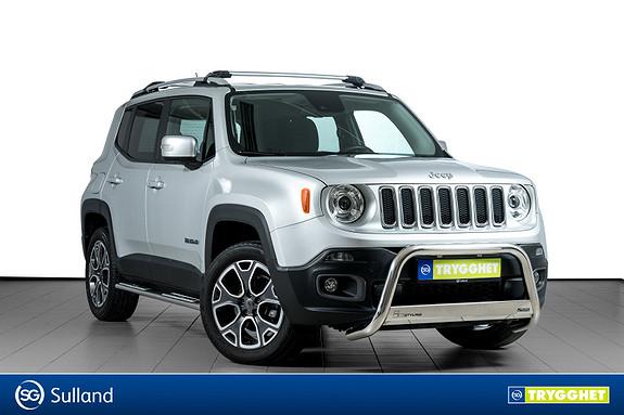 Jeep Renegade 2,0 MJD 140hk Limited 4WD Godt utstyrt