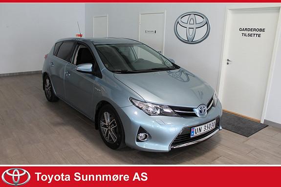 Toyota Auris 1,8 Hybrid E-CVT Active+ **VELHOLDT**RYGGEKAMERA**DAB+*  2014, 43000 km, kr 215000,-