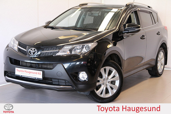 Toyota RAV4 2,2 D-4D 4WD Active Style Navi, cruise, BT, DAB, Tectyl  2014, 96099 km, kr 285000,-