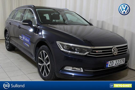 Volkswagen Passat 2,0 TDI 190hk Businessl. 4MOTION DSG FORHØYET UNDERSTEL