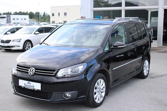 Volkswagen Touran 1,6 105 TDI BMT DSG  Highline ALCANTARA, AUTOMAT, HENGE  2012, 158500 km, kr 139000,-