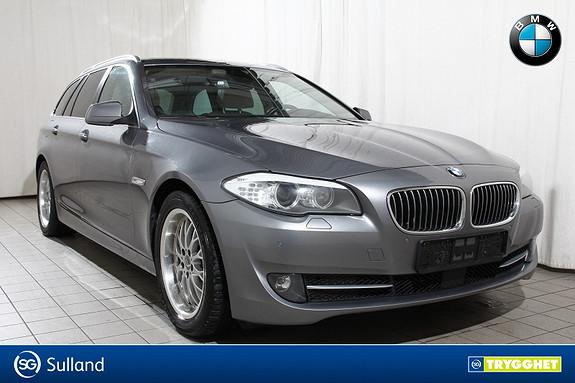 BMW 5-serie 520dAT Norsk-Ad.Cruise-NAV-EDC-El.bakluke-El.krok-PANO