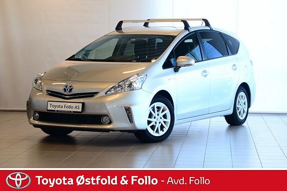 Toyota Prius+ Seven 1,8 VVT-i Hybrid Executive  2014, 50441 km, kr 249000,-