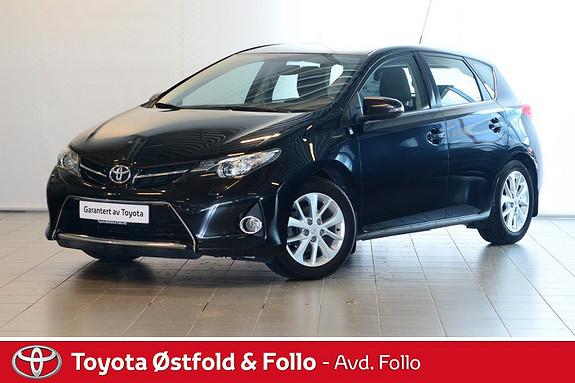 Toyota Auris 1,33 Dual VVT-i  Active Go navi  2013, 43599 km, kr 169000,-