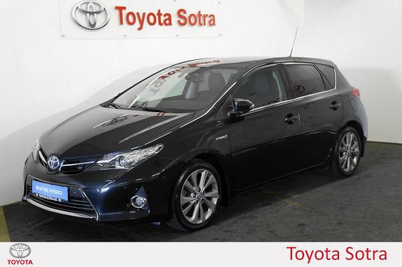 Toyota Auris 1,8 Hybrid E-CVT Executive DAB+ NORSK NAVI  2013, 34626 km, kr 215000,-
