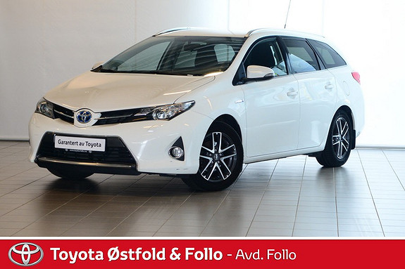 Toyota Auris Touring Sports 1,8 Hybrid Active+  2014, 67800 km, kr 198000,-
