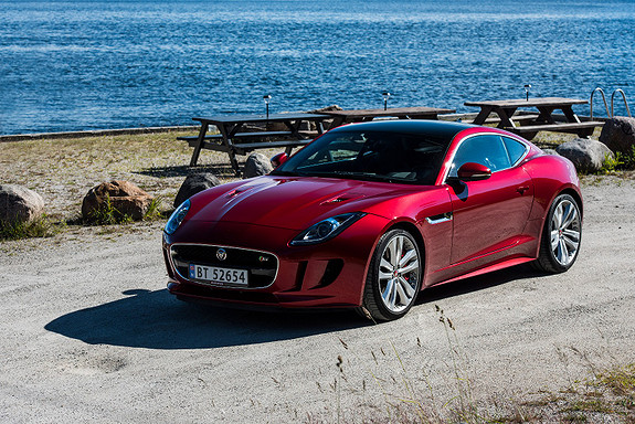 Jaguar F-TYPE Coupe S 380hk AWD/Performance/ Norges tøffeste!?