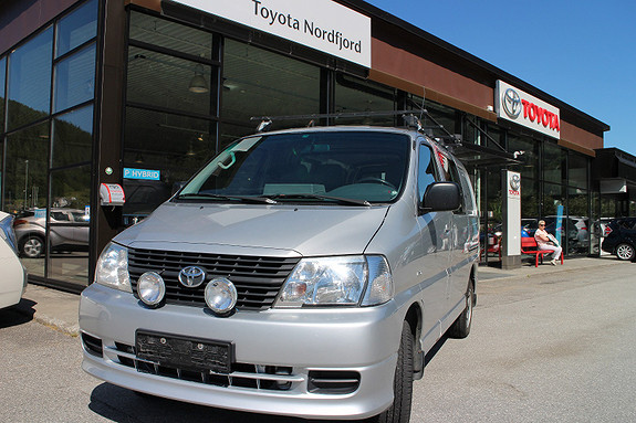 Toyota HiAce 4 WD kort D4d  2008, 202000 km, kr 124900,-