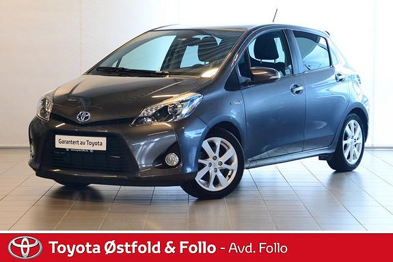 Toyota Yaris 1,5 Hybrid Style Navi, Glasstak,  2014, 28935 km, kr 179000,-