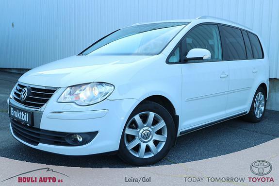 Volkswagen Touran 1,9 TDI Highline BlueMotion 7 seter, skinninteriør ,  2009, 231012 km, kr 89900,-