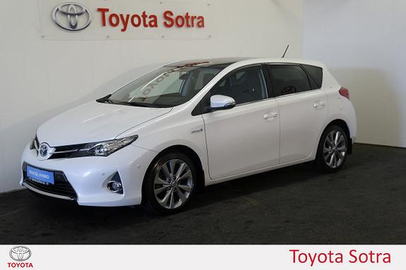 Toyota Auris hybrid 5 dørs  2013, 60000 km, kr 195000,-