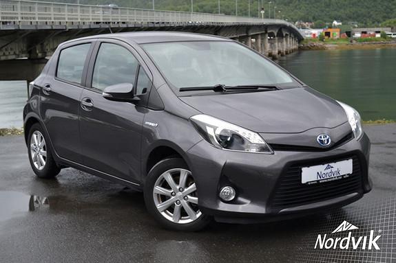 Toyota Yaris 1,5 Hybrid Active Multimedia, Isofix, Kjørecomputer,  2013, 61000 km, kr 159000,-