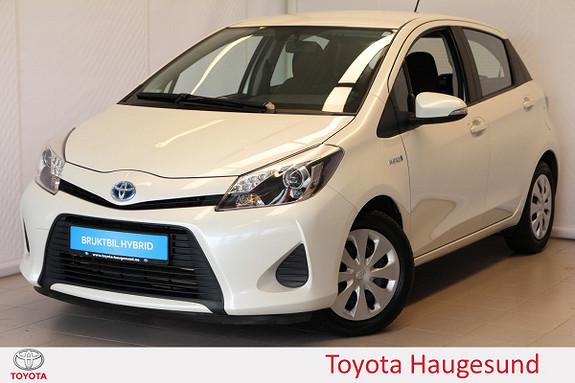 Toyota Yaris 1,5 Hybrid Active e-CVT Bluetooth, kamera, tectylert  2014, 25477 km, kr 169000,-