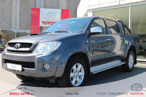 Toyota HiLux D-4D 171hk D-Cab Aut 4wd SR+ DAB+ - 1 års garanti  2011, 87583 km, kr 299900,-
