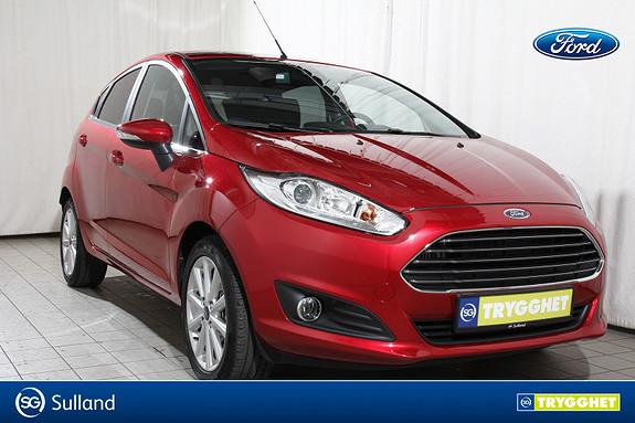 Ford Fiesta 1,0 EcoBoost 100hk Titanium Som ny!