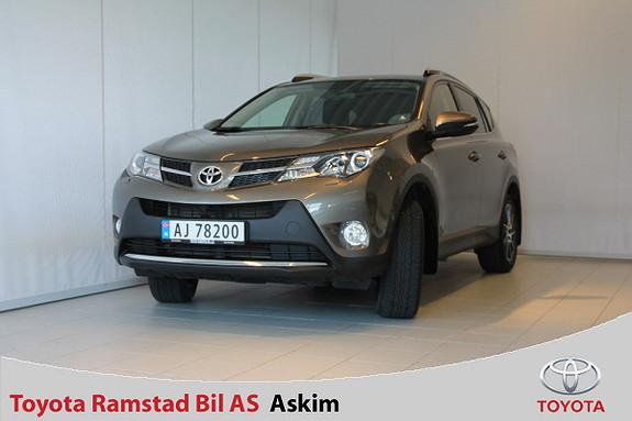Toyota RAV4 2,2 D-4D 4WD Active  2013, 50600 km, kr 319000,-