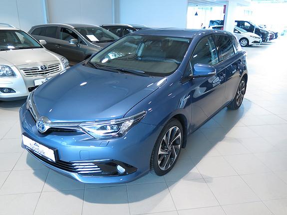 Toyota Auris 1,8 Hybrid E-CVT Style Edition  2015, 20711 km, kr 275000,-