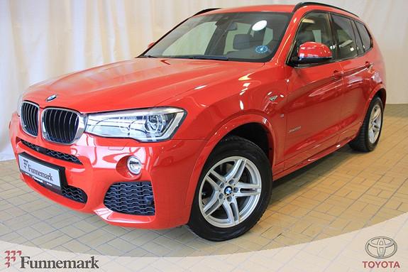 BMW X3 xDrive20d 190hk aut  2016, 22085 km, kr 599000,-