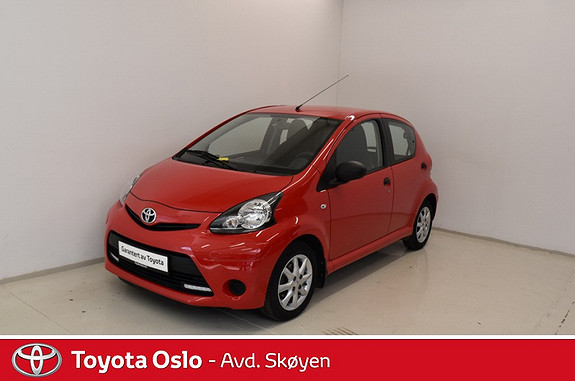 Toyota Aygo 1,0 + 5-d  2014, 30500 km, kr 104900,-