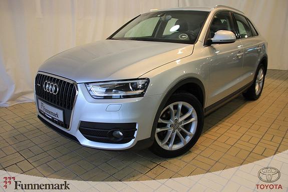 Audi Q3 2,0 TDI 170 hk quattro S tronic  2012, 77289 km, kr 289000,-