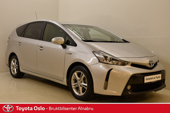Toyota Prius+ Seven 1,8 VVT-i Hybrid Executive Skinn, Automat, DAB+,  2016, 12834 km, kr 339900,-