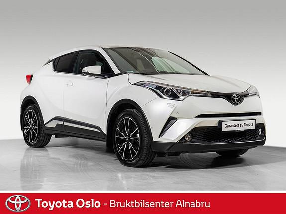 Toyota C-HR 1,2T Supreme 4WD aut Automat, DAB+,  2017, 10940 km, kr 389900,-