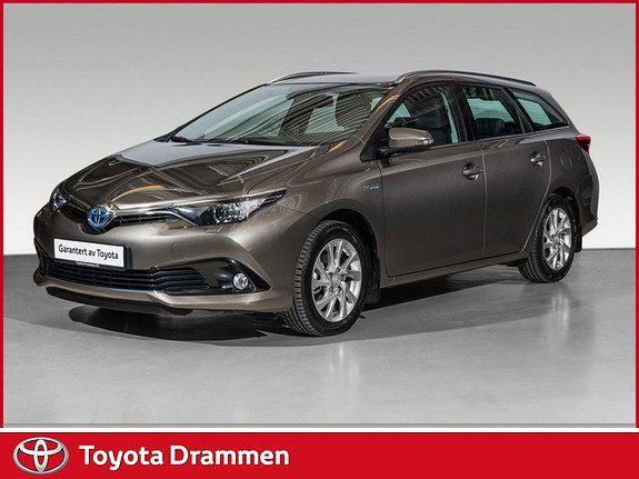 Toyota Auris Touring Sports 1,8 Hybrid Active  2016, 7 120 km, kr 269 000,-