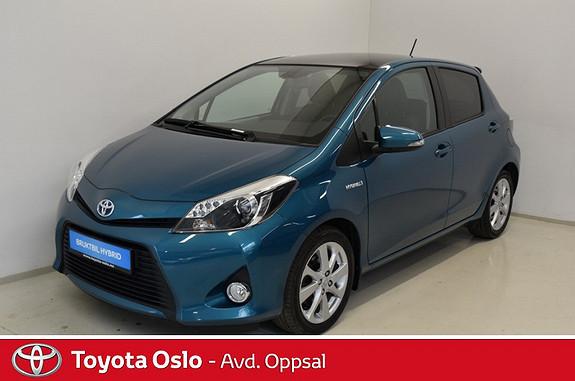 Toyota Yaris 1,5 Hybrid Style Automat  2014, 24325 km, kr 179900,-