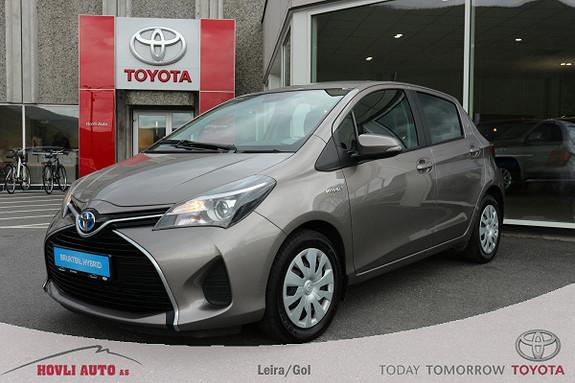 Toyota Yaris 1,5 Hybrid Active e-CVT DAB+ - Navi - Nybilgaranti 2020  2015, 57657 km, kr 169900,-
