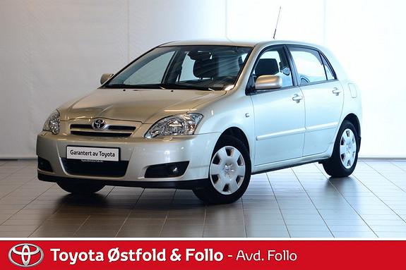 Toyota Corolla 1,4 Sol  2006, 54771 km, kr 79000,-
