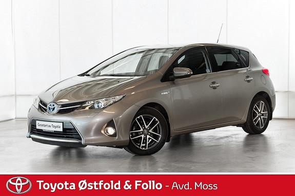 Toyota Auris 1,8 Hybrid E-CVT Active+ / PEN BIL / BØR SEES  2015, 34000 km, kr 235000,-