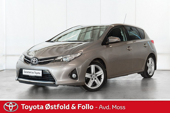 Toyota Auris 1,33 Dual VVT-i  Style / TOPP UTGAVE / TØFF BIL  2013, 41800 km, kr 178000,-