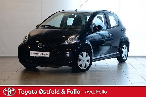 Toyota Aygo 1,0 5-d  2010, 15281 km, kr 79000,-
