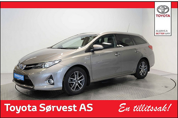 Toyota Auris Touring Sports 1,8 Hybrid Active+  2015, 38 787 km, kr 238 000,-