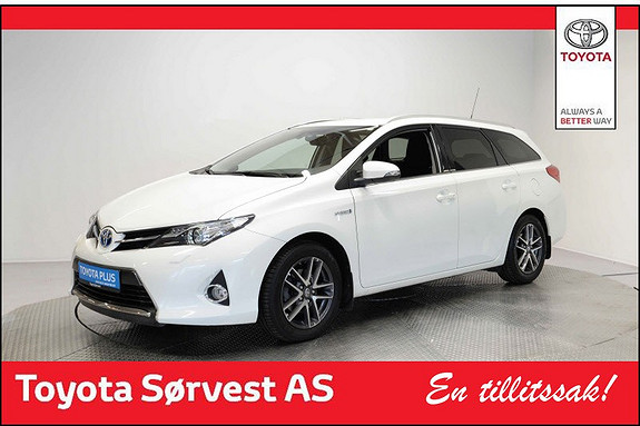 Toyota Auris Touring Sports 1,8 Hybrid Active+  2015, 24 100 km, kr 238 000,-