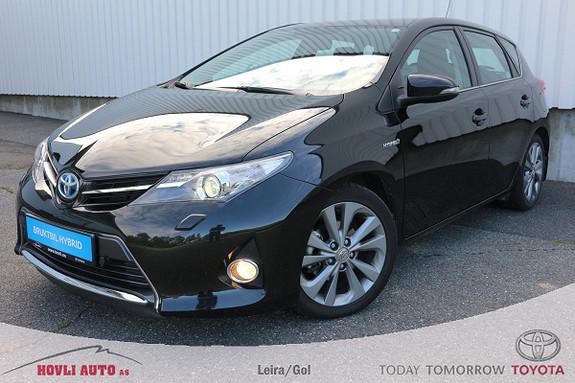 Toyota Auris 1,8 Hybrid E-CVT Active Go navi , DAB+, Xenonlys  2014, 20200 km, kr 219000,-