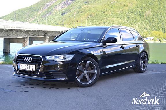 Audi A6 2,0 TDI 163 Hk multitronic DAB. Skinn/Alcantara. PDC  2012, 46000 km, kr 349000,-